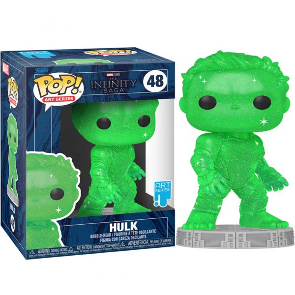Figura POP Marvel Infinity Saga Hulk Green