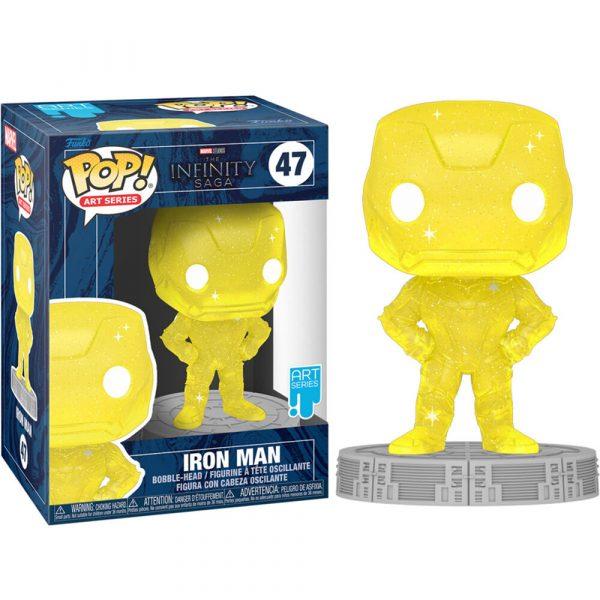 Figura POP Marvel Infinity Saga Iron Man Yellow