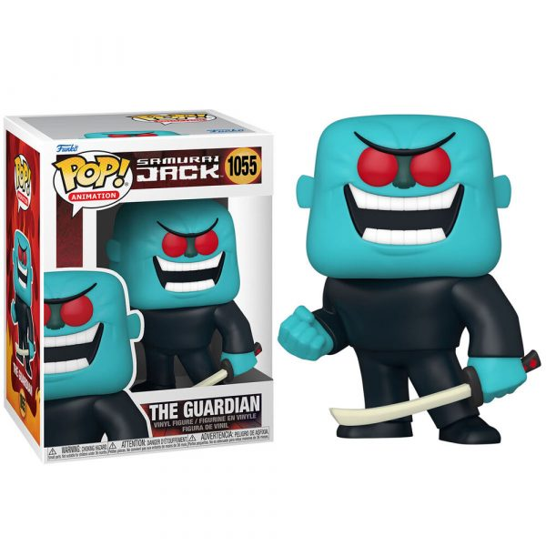 Figura POP Samurai Jack The Guardian
